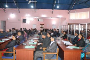 प्रदेश ४ को पहिलो बैठक सम्पन्न, फागुन ३ मा सभामुखको चुनाव