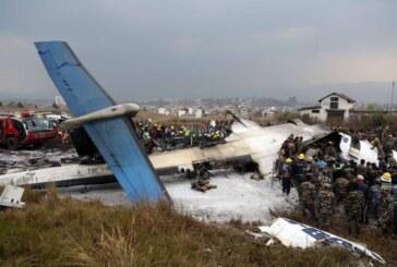 विमान दुर्घटनामा मृत्यु हुनेको संख्या ४९ पुग्यो, २१ घाइते,