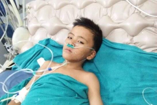 गोर्खा गुम्दाका ११ वर्षिय बालकद्धारा उपचारका लागि सहयोगको आग्रह