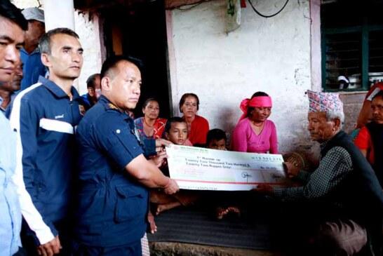 खेलकुद क्षेत्रमा नया परम्पराको थालनी ,पुरस्कार बिजेताले दिए श्रेया बिकको परिवारलाई नगद