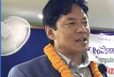 कम्प्युटर एशोसियसन नेपाल महासंघ (क्यान)को केन्द्रिय सचिबमा पोखराका व्यवसायी जगन गुरुङ