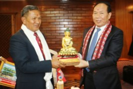 तिब्बत सरकार अध्यक्ष पाेखरामा, गण्डकी प्रदेश र तिव्वत बीच सुमधुर सम्वन्ध –मुख्यमन्त्री गुरुङ
