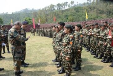 नेपाली सेनामा भर्ना खुल्याे,बिभिन्न पदमा २ हजार ३ सय २३ जनाको माग