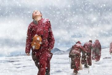 उपल्लो डोल्पामा हिमपात रोक्न हिउँमै बसेर बाैद्व लामाकाे पूजा