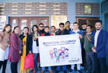 एस.टी.क्रियशन म्यानेजमेन्ट प्रा.लिकाे अनाथ,असाहाय लाई सहयोग
