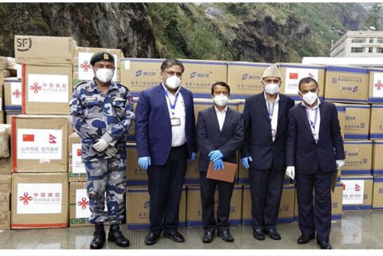 तिब्बतले दिएको स्वास्थ्य सामग्री भित्रियो नेपाल