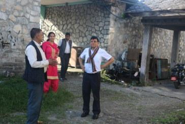 सचिव वस्यालबाट रासस प्रदेश कार्यालय निरीक्षण