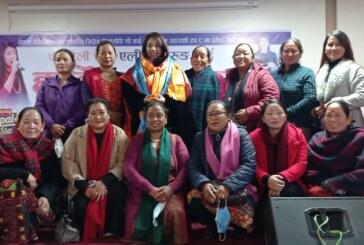 नेपाल स्टारको टप ८ मा प्रवेश गर्न सफल एलिना लाई यसरी गरियो स्वागत
