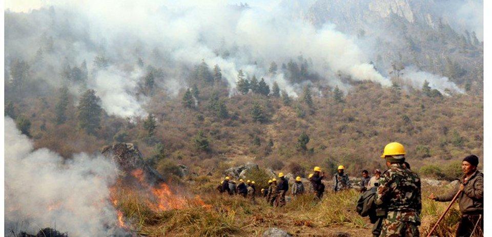 काठमाडौंको आकाशमा प्रदूषण, देशभरको हवाई उडान प्रभावित