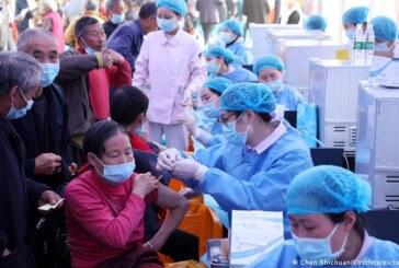 चीनमा ३० करोड व्यक्तिलाई खोप लगाइयो