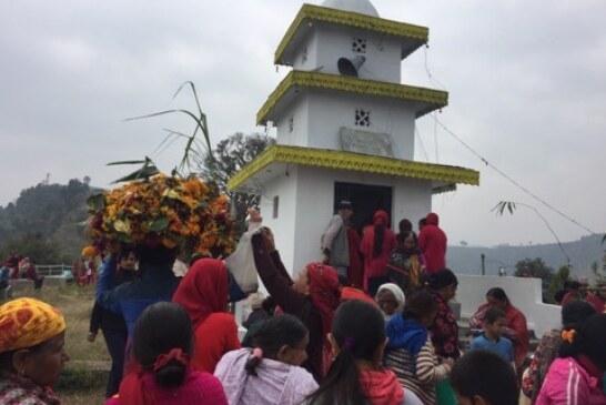 घार्मीको ओमकारेश्वर मन्दिरमा सतबीज छरियो