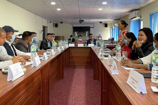 गण्डकी प्रदेश खेलकूद परिषदको पहिलो बैठक,यस्ता छन विभिन्न निर्णय